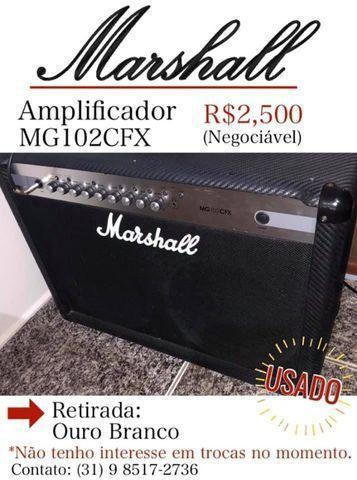 Amplificador de guitarra - Marshall MG102CFX