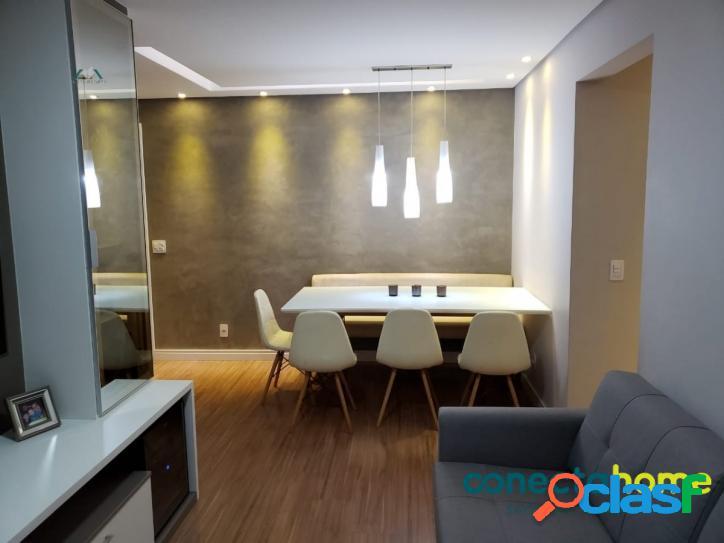 Apartamento com 62 m², 2 dormitórios 1 suite, 1 vaga,