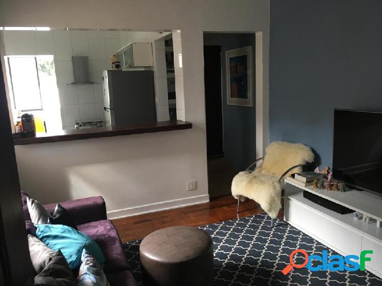 Apartamento de 1 dormitório em Santos no José menino.
