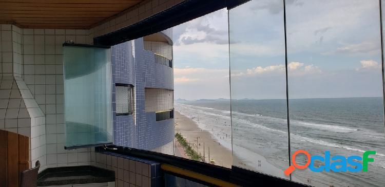 Apartamento frente ao mar - 3 dorms