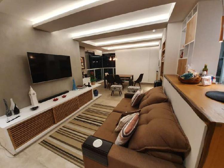 Apartamento para venda com 77 metros quadrados com 2 quartos