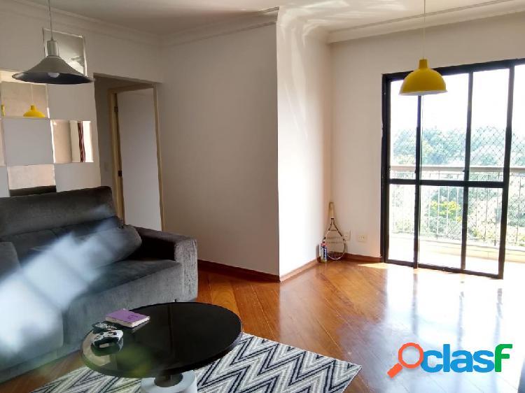 Apto de 3 dormitórios bem arejado e iluminado com 75m²