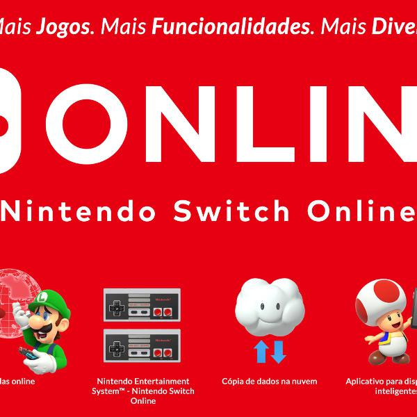 Assinatura Nintendo Switch Online