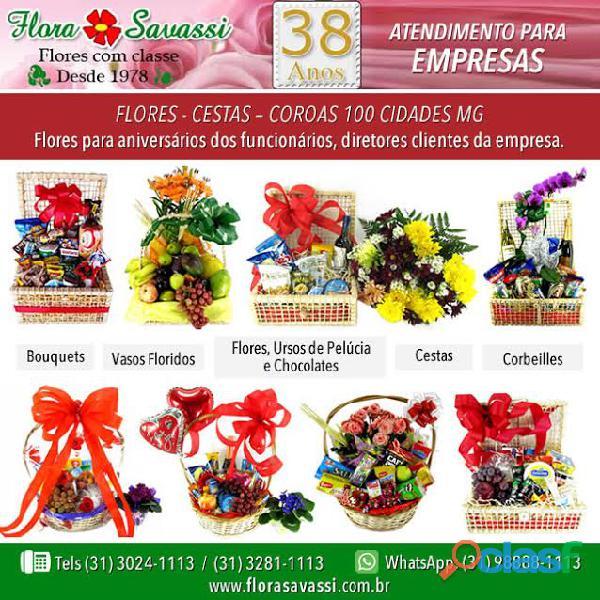 Brumadinho MG floricultura Entrega de flores, cesta de café
