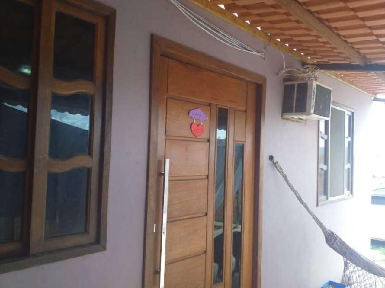 Casa p venda com 240m2 de terreno com 2 quartos em Unamar -