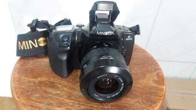 Câmera fotográfica minolta vendo ou troco por baik aro