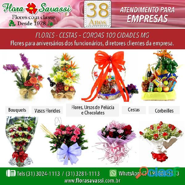 Condomínio Lagoa Santa MG floricultura entrega flores para