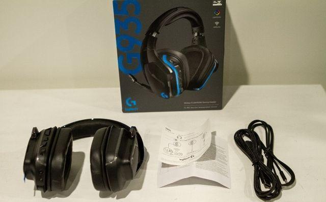 Headset Logitech G935 - Lacrado - 2 anos garantia - Wireless