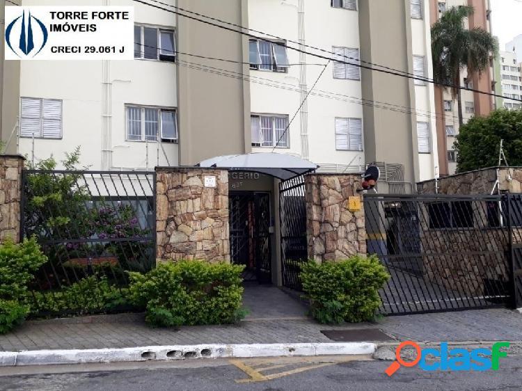 Lindo apartamento com 2 dormitórios e 1 vaga na Vila