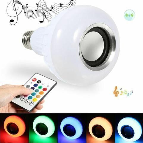 Lâmpada Led RGB; Controle; Bluetooth