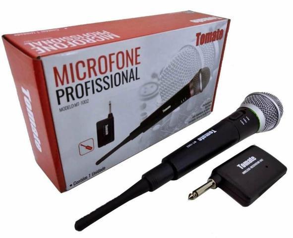 Microfone Sem Fio Tomate MT 1002 - Aula Palestra Igreja