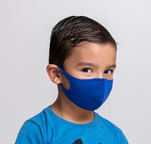 Máscara Infantil, Lavável, Estilo Ninja, Com 1 Filtro