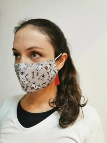 Máscara Máxima Proteção Respiratória Lavável Difersas