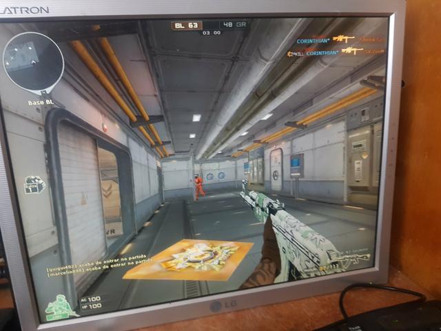 PC completo rodando vários jogos e programas