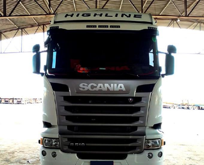 Scania R 510 6X4 Highline Teto Alto Ano e Modelo 18