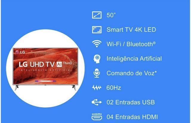 Tv Lg 4K 50