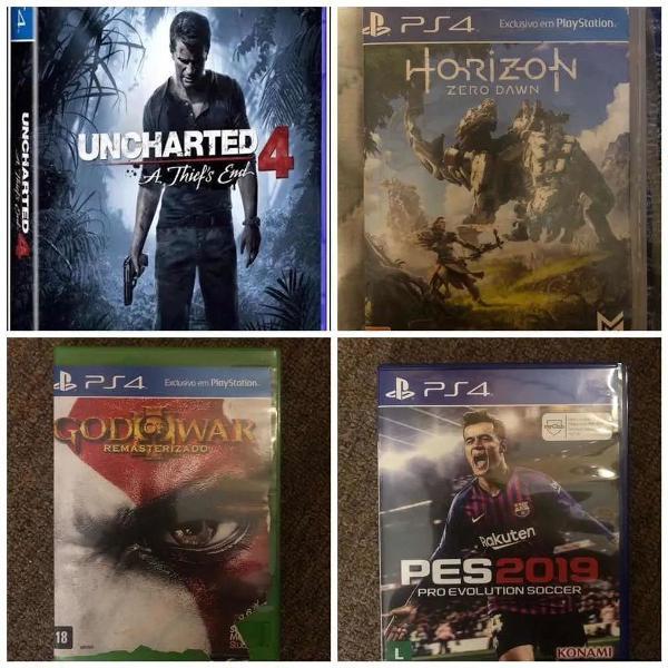 kit 4 jogos ps4