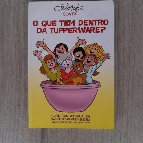 livro: o que tem dentro da tupperware