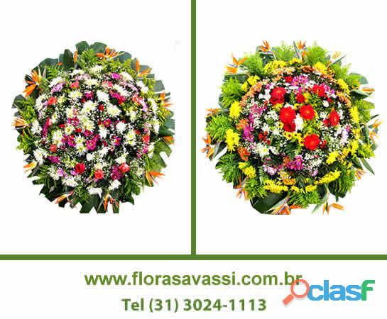 Santa Luzia MG floricultura coroa de flores em Santa Luzia