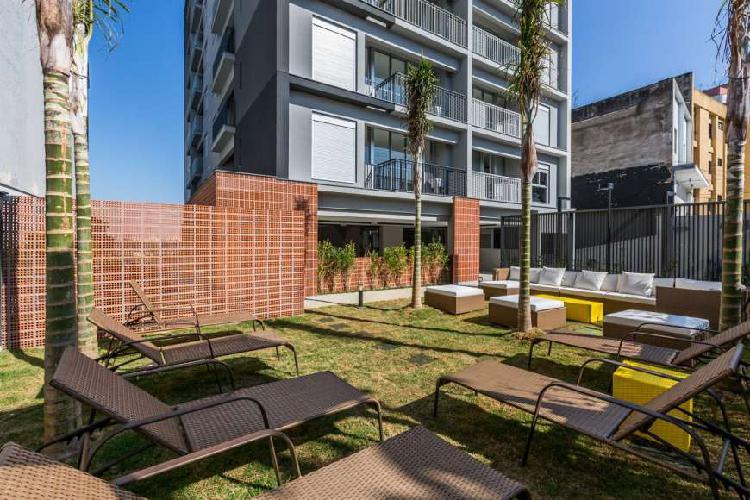 Apartamento 35M² com 1 Vaga na Vila Madalena - Pronto para