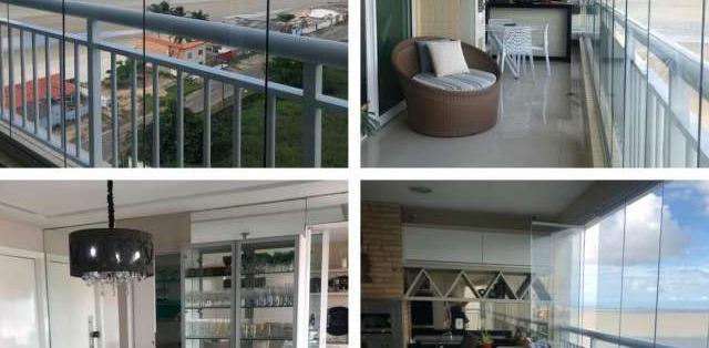 Apartamento para venda possui 245m2 com 4 quartos