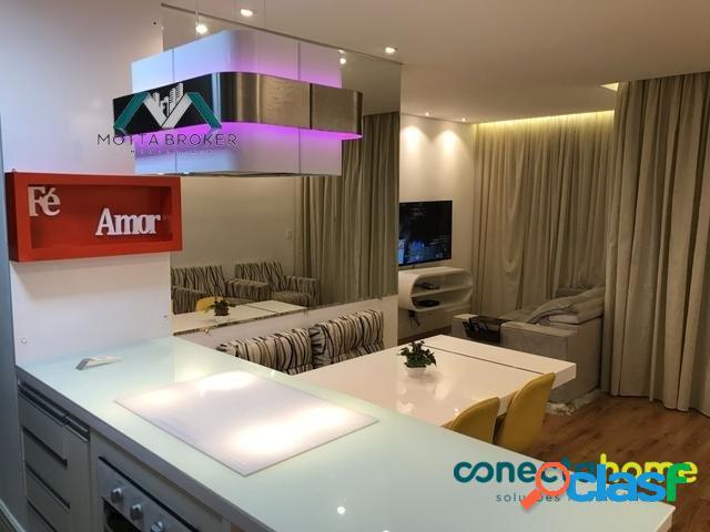 Apartamento na Zona Norte, Mobiliado, 61 m², 2 dorms sendo