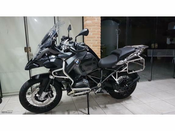 BMW - R 1200 GS Adventure Triple Black