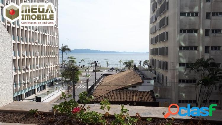 Apartamento com vista p o mar da Beira Mar, 3 dorm suíte