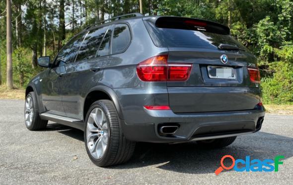 BMW X5 XDRIVE 50I 4.4 BI-TURBO CINZA 2012 4.4 GASOLINA