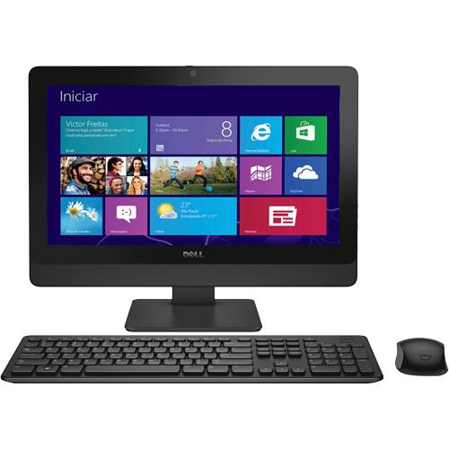 Computador All in One Dell AIO Optiplex 3030-W10B - Preto -
