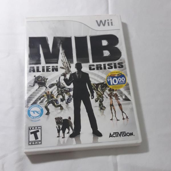MIB - ALIEN CRISIS Para Nintendo Wii