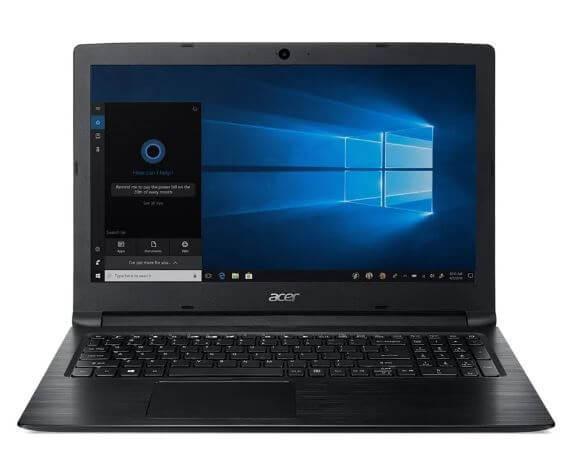 Notebook Acer Aspire 3 A315-53-P884 - Preto - Quad Core Gold