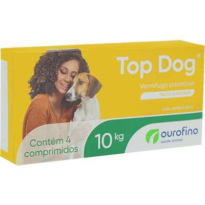 Vermifugo Ourofino Top Dog para Cães de até 10 Kg - 4