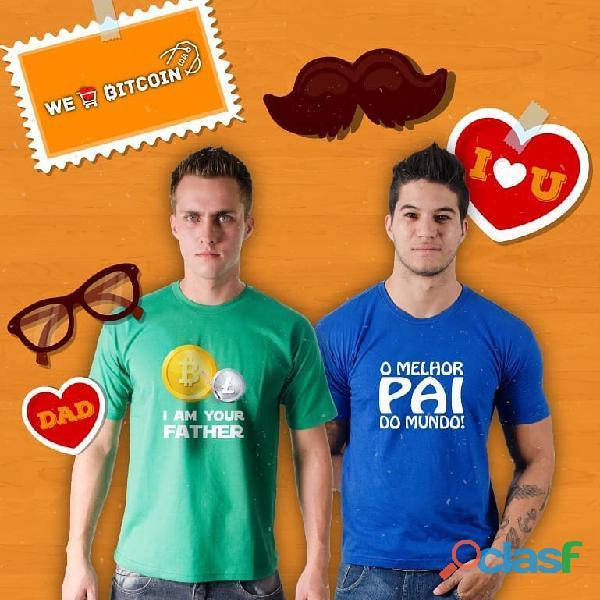 Camiseta criativa para o Dia dos Pais