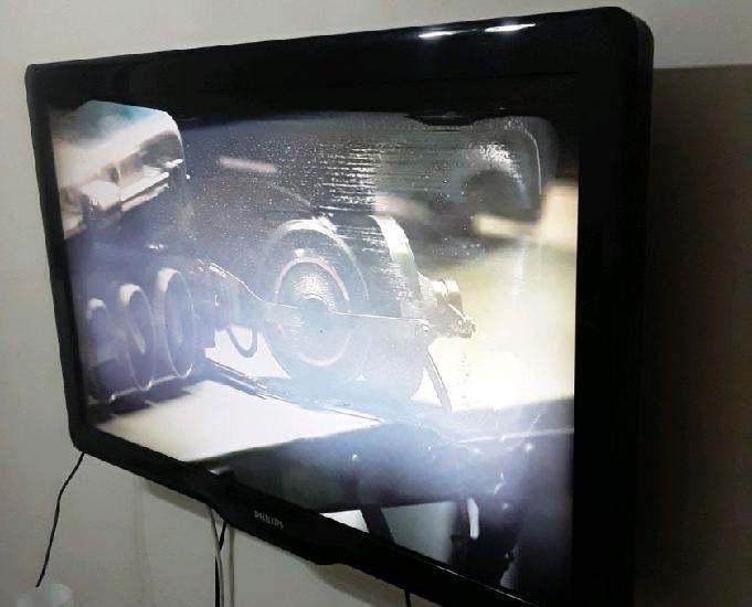 RJ TV PHILIPS 40 P LED LCD C DEFEITO TELA TROCO POR CELULAR