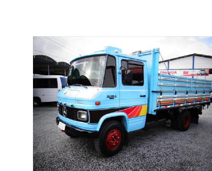 caminhão mb 608 ano 1987 direção freio ar
