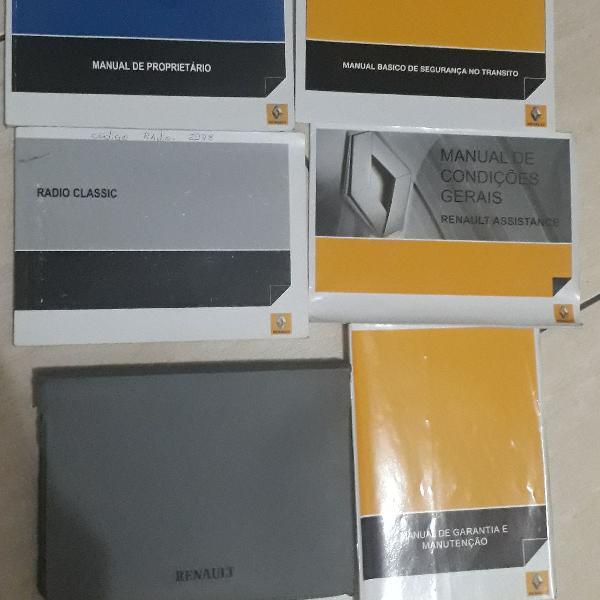 manual do proprietário Renault sandero stepway 2011 2012