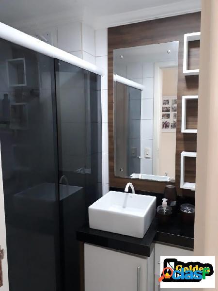 Apartamento dois dormitórios em São João Batista.