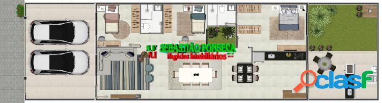 Casa Nova 3 Dormitórios- Bairro Portal dos Pássaros SJC
