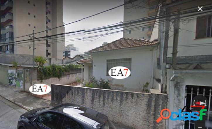 Terreno 9X29 à venda no centro de São Bernardo do Campo