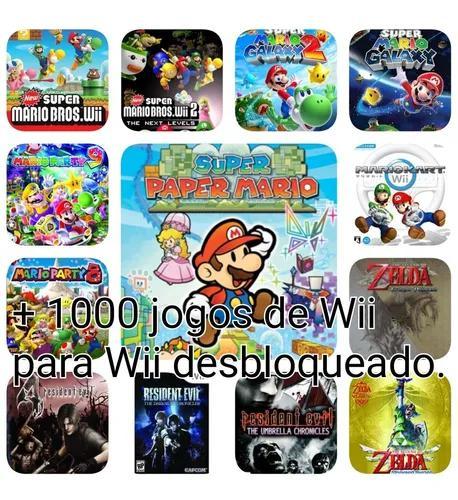 1200 Jogos De Wii + 570 Jogos De Gamecube- Para Wii Desbloq.