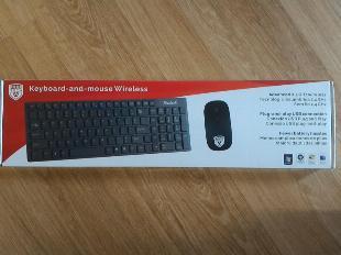 Kit teclado e mouse wireless (sem fio)