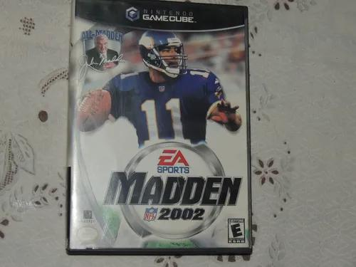 Madden Nfl 2002 Para Nintendo Game Cube Original Americano
