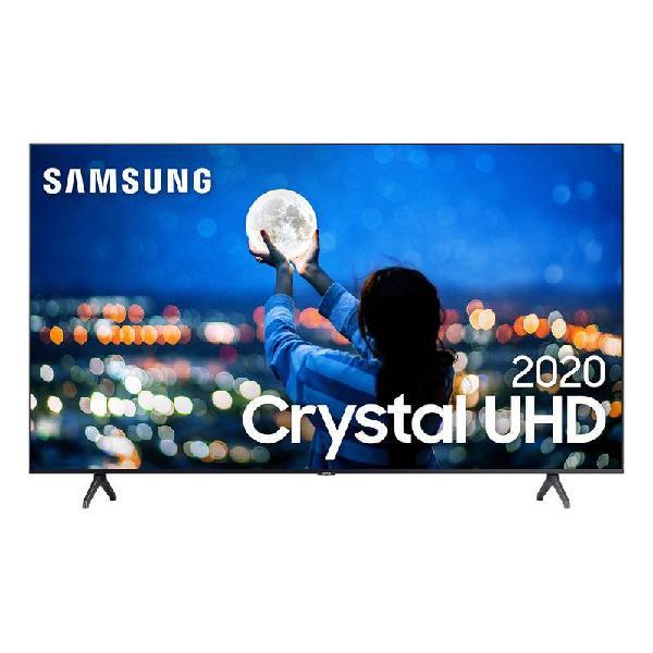 "Samsung Smart TV Crystal 70"" UHD 4K 2020 TU7000 Bluetooth"
