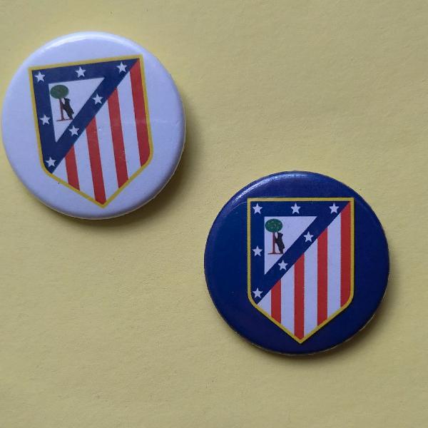 bottons do Atlético de Madrid