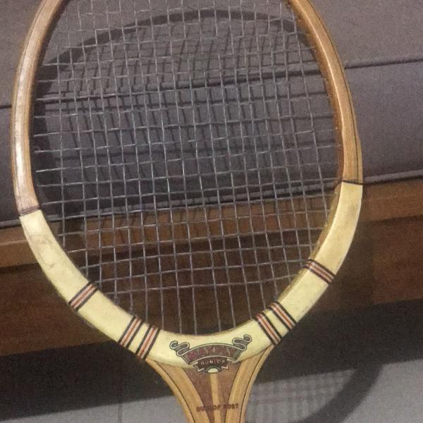 raquete de ténis dunlop