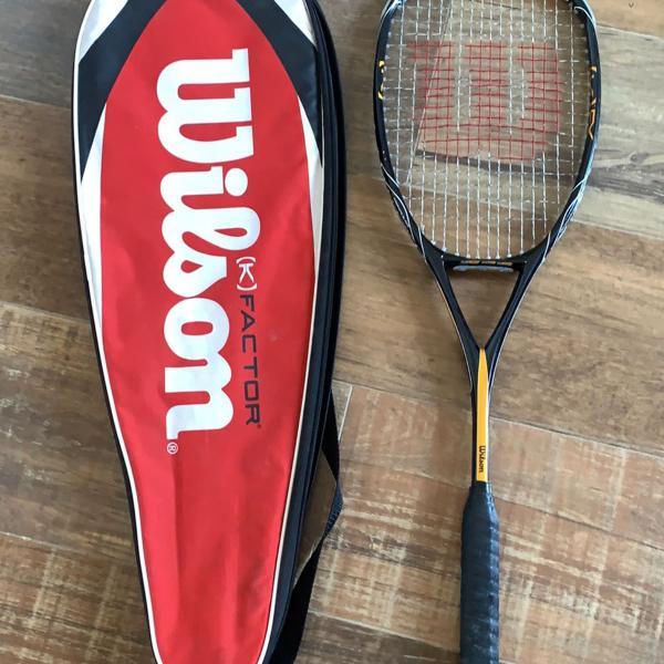 raquete para squash wilson k factor