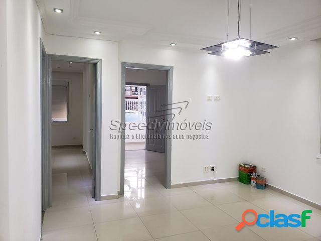 Apartamento em Santos 2 dormitórios Térreo