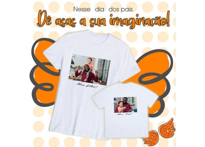 Crie Camiseta com Foto para o Dia dos Pais