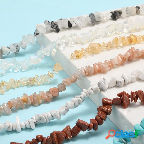 Material Artesanal DIY Bolsa Traight Buraco Frisado Pedra